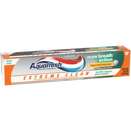 Extreme Clean souffle pur d'action menthe fraîche Dentifrice 56 oz