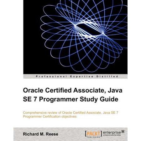 Oracle Certified Associate, Java Se 7 Programmer Study