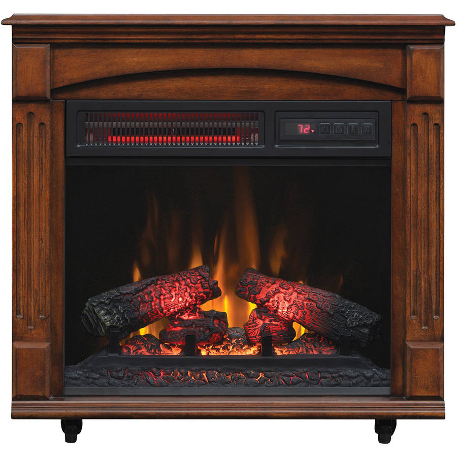My Fireplace Doesnt Heat The Room: ChimneyFree Electric Infrared Quartz Fireplace Space