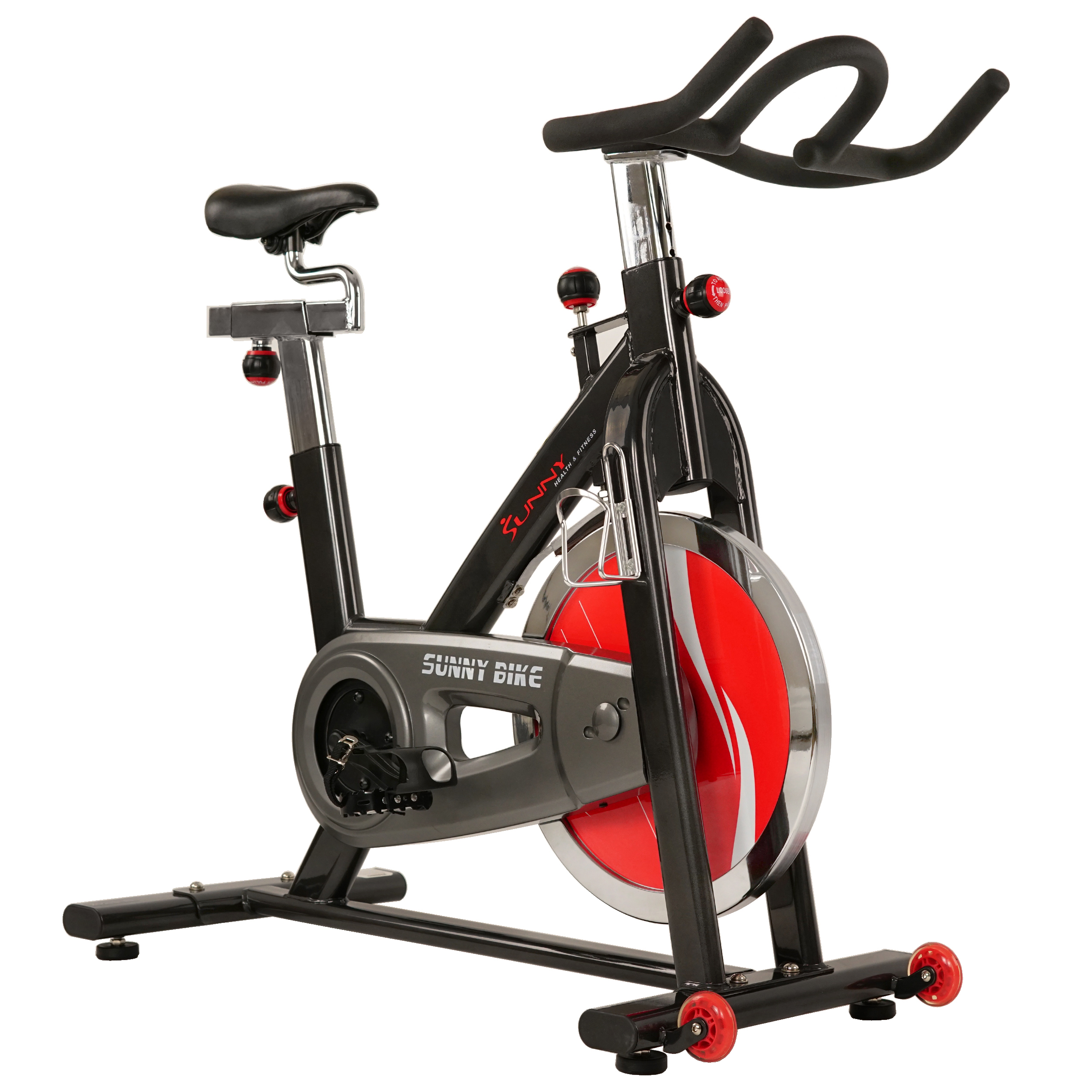 Sunny Health & Fitness SF-B1002 Indoor Cycling Exercise Bike