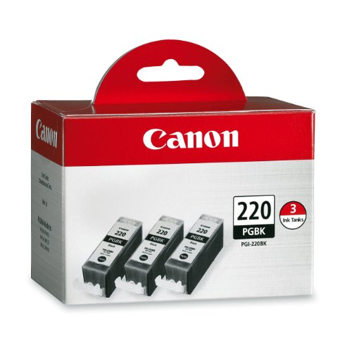 Canon PGI-220 Combo Pack - Triple Pack (Black)