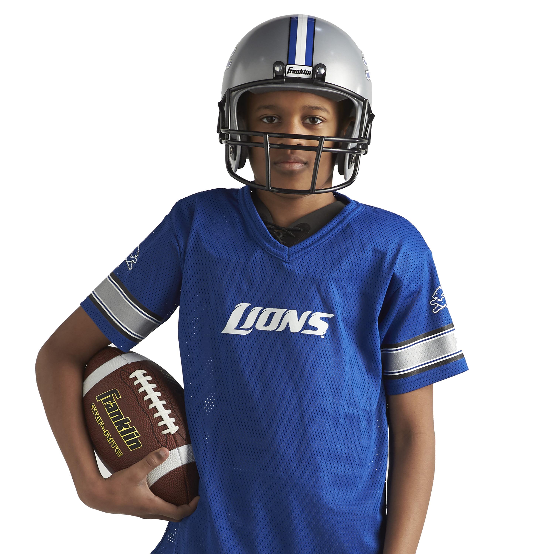 2aa4b228 Kids Detroit Lions Costume Helmet NFL Football Youth Sports Uniform ...