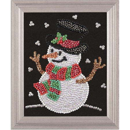 Sequin Art Kits (Sunrise Craft & Hobby™ Snowtime Pal Pin Art Sequin)