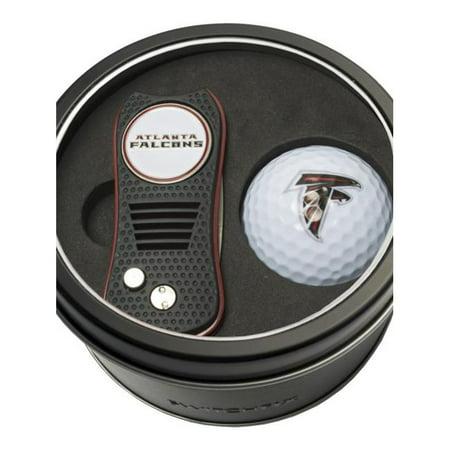 Team Golf 637556301567 Atlanta Falcons Tin Set - Switchfix, Golf Ball - image 1 de 1