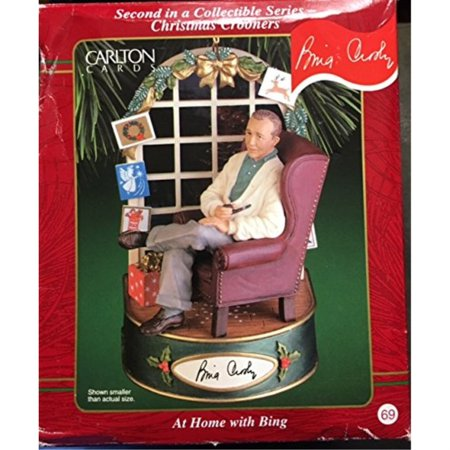 Bing Crosby Christmas.Bing Crosby White Christmas Heirloom Ornament