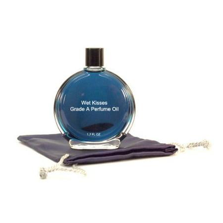 Wet Kisses Perfume Oil - 1.7 oz in Premium Glass Bottle (Halloween Kiss Perfume Review)