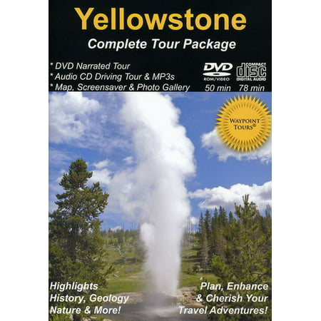Yellowstone Complete Tour Package (DVD)