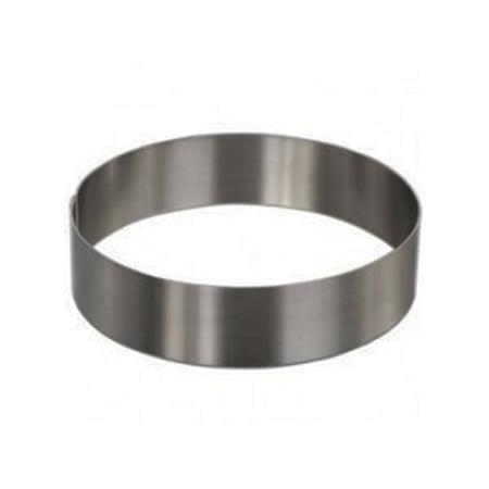 Round Cake Mold/Pastry Ring, S/S, Heavy Gauge. (4.5