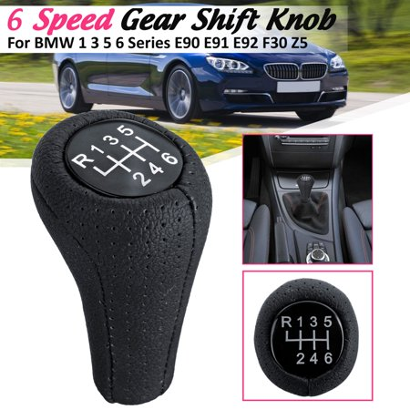 5 / 6 Speed Gear Shift Knob Shifter Manual Transmission For BMW 1 3 5 6 Series E90 E91 E92 F30 Z5 F20 M3 M4 M5 X5 X6 Universal 6 Speed Transmission Gear Set