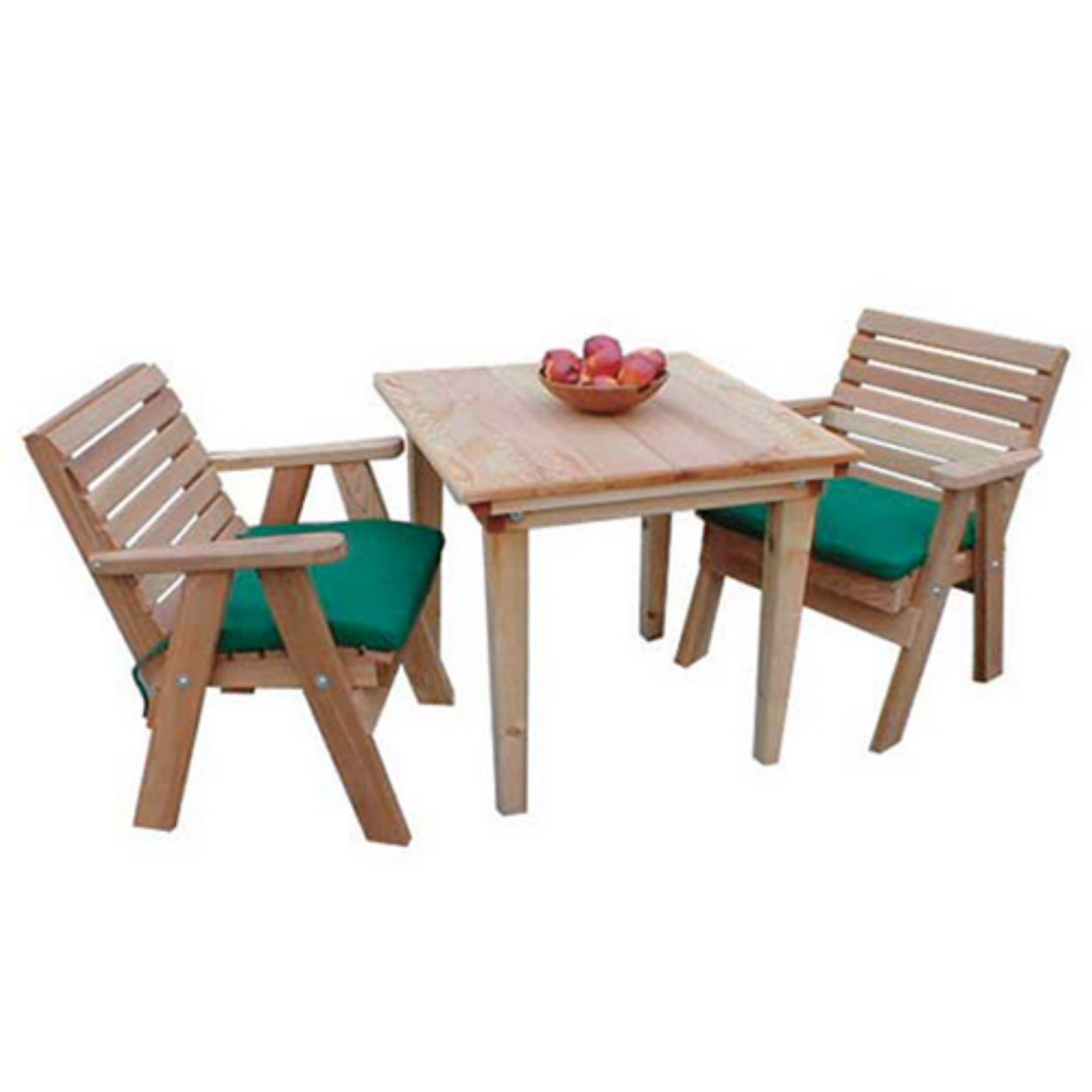 Creekvine Designs Classic Cedar 3 pc. Dining Set