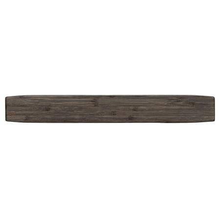 Premium Bamboo Magnet Knife Strip and Utensil Holder for Kitchens or Bars, 15