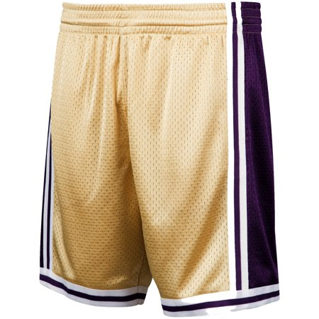 Los Angeles Lakers Mitchell & Ness Hardwood Classics Gold All Star Collection Swingman Shorts - Gold