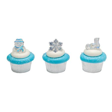 Winter Assortment Cupcakes Cupcake Rings 12 Count](Halloween Cup Cakes)