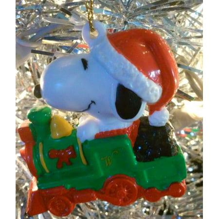 snoopy christmas ornament santas train - Snoopy Christmas Ornament
