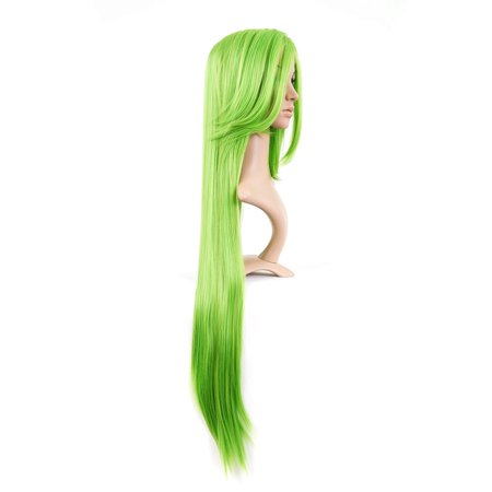 Bright Green Long Length Anime Cosplay Costume