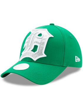 b6a882d60 Product Image Detroit Tigers New Era Women's Glitter Glam St. Patrick's Day  9FORTY Adjustable Hat - Kelly