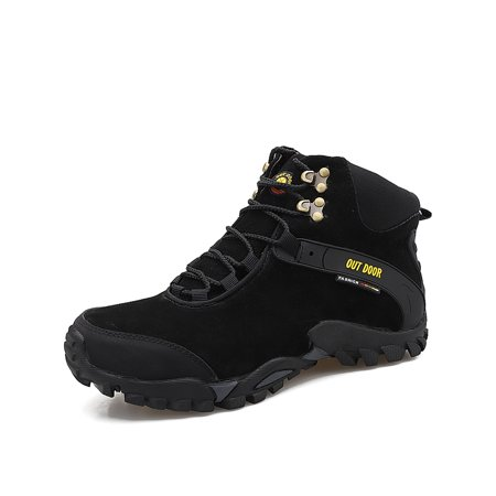 Men's Snow Boots Martin Boots for Men Outdoor Walking Boots Winter Ankle
