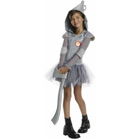 Tin Man Hooded Tutu Child Halloween Costume - Halloween Costume Ideas Nyc