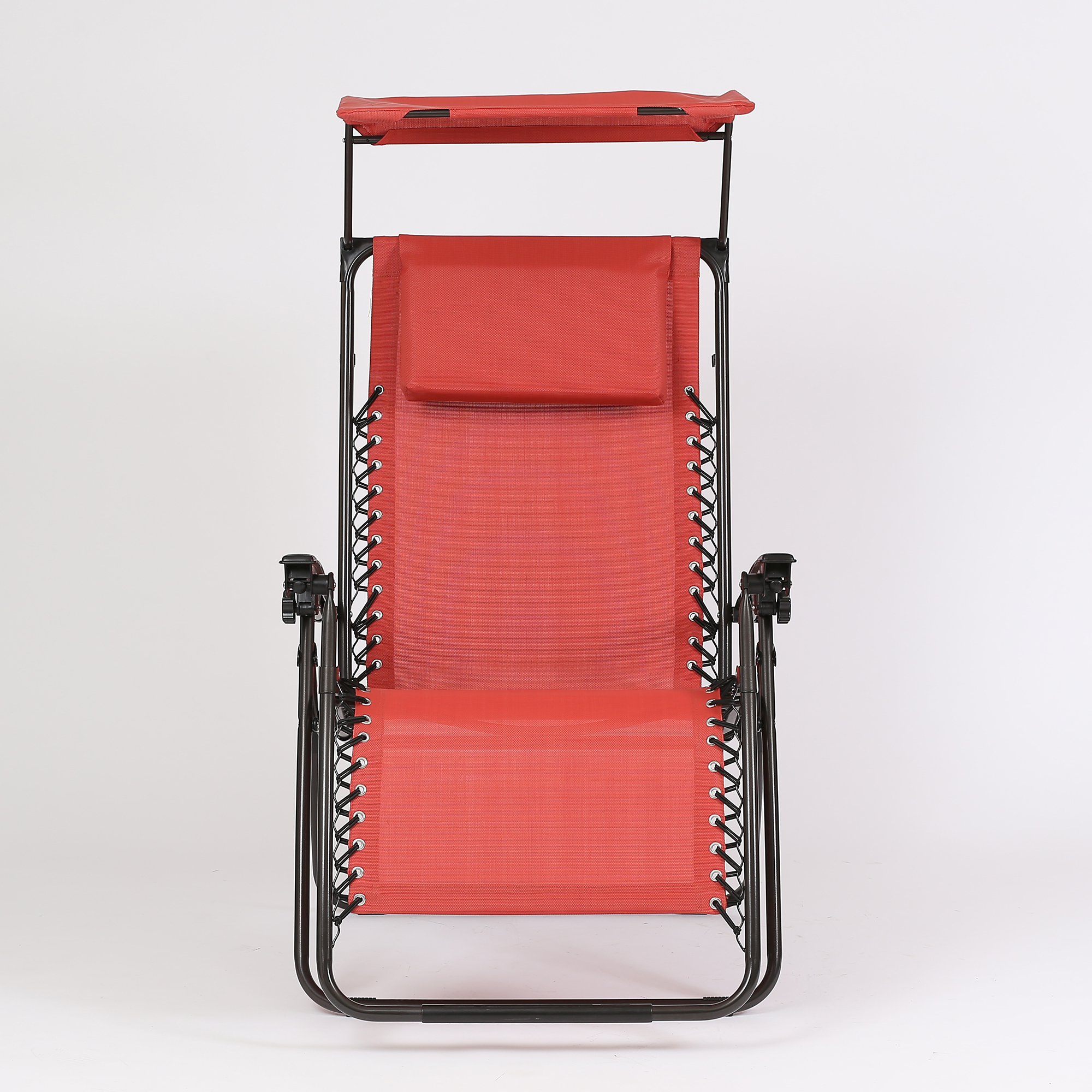 Zero Gravity Chair and Canopy Red