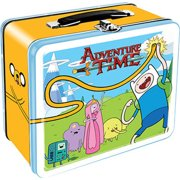 Adventure Time Lunch Box Finn Jake TV Show Cartoons Colorful Tin Novelty