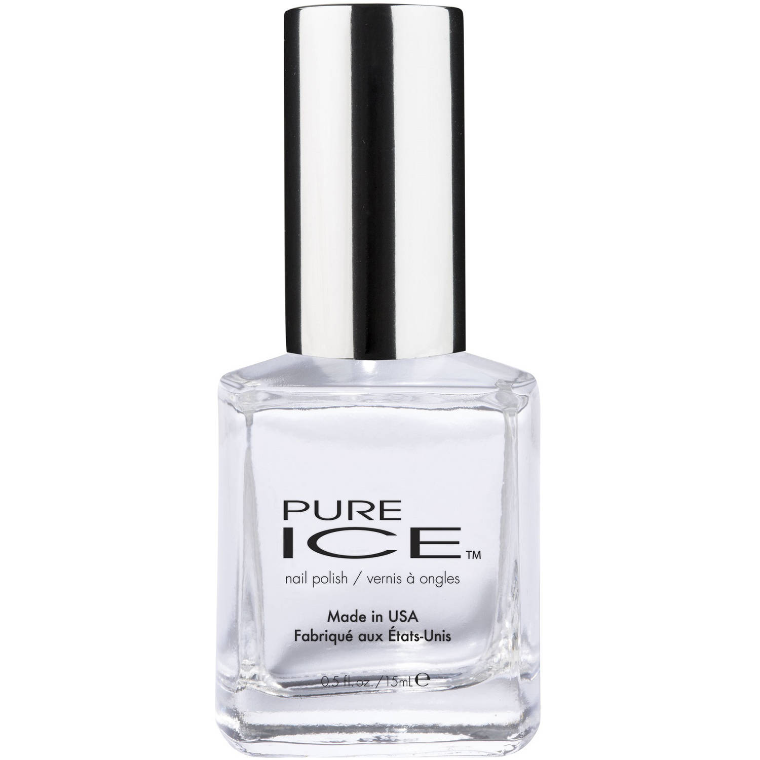 Pure Ice Top Coat Nail Polish, \
