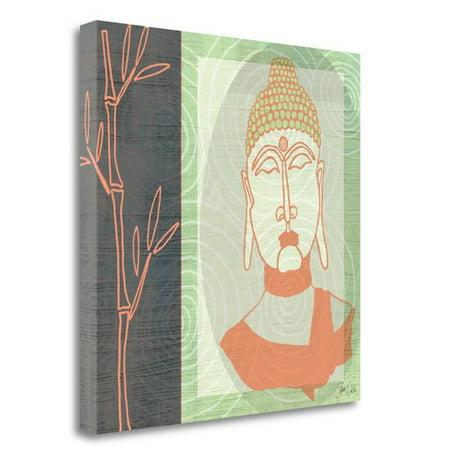 Tangletown Fine Art Buddha 2 Print on Canvas Wall Art