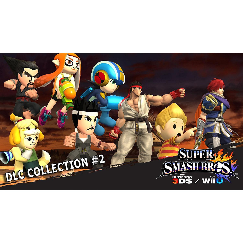 Super Smash Bros. DLC Collection #2, Nintendo, Nintendo 3DS, [Digital Download], 0004549668083
