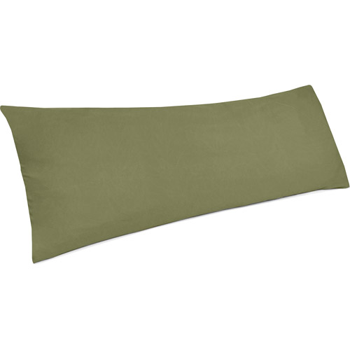 Mainstays Suede Body Pillow Cover