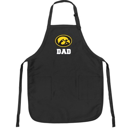 University of Iowa Dad Apron DELUXE Iowa Hawkeyes Dad -