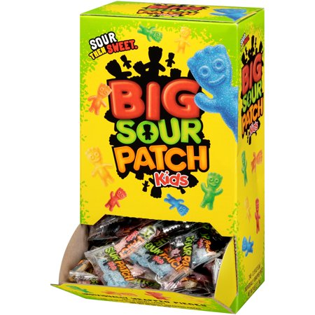 Sour Patch, Kids Individually Wrapped Soft & Chewy Candy Changemaker, 45.6 Oz - Sour Patch Halloween Candy
