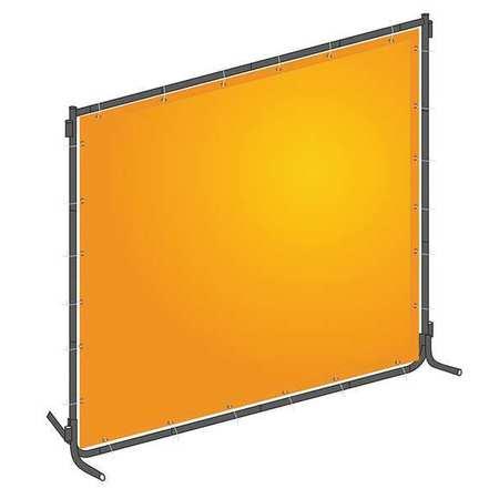 Westward 22RN70 Yellow PVC/Steel Welding Screen