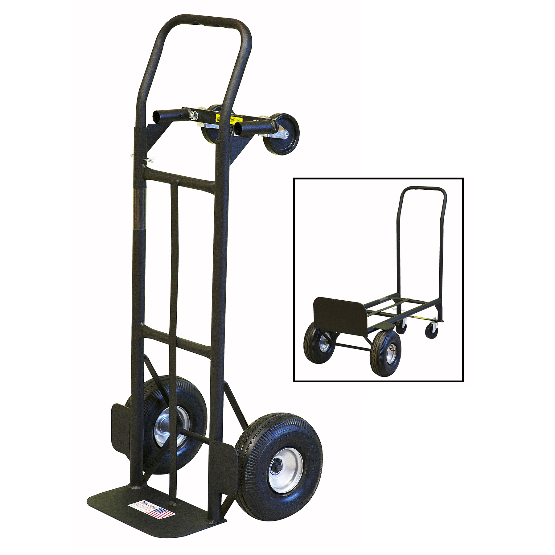 Milwaukee 30080 Convertible Hand Truck by Gleason Industrial Products