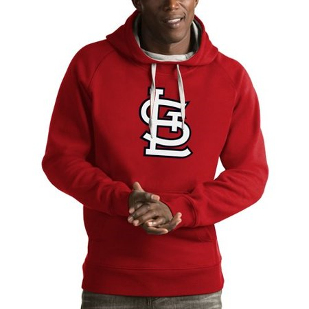 - St. Louis Cardinals Antigua Victory Pullover Hoodie - Red