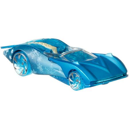 Hot Wheels Frozen Elsa Character Car - Frozen Cards