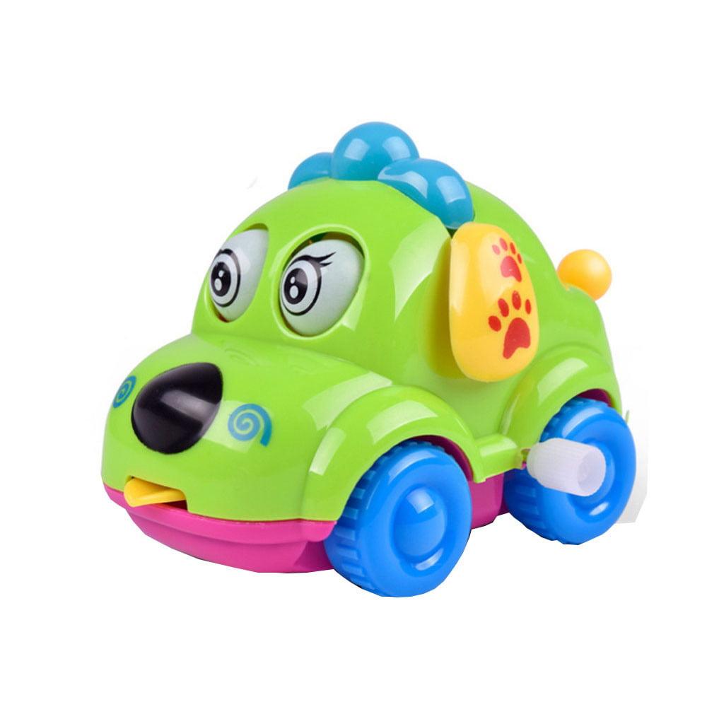 Clockwork Funny Toy Cartoon Puppy Tongue Clockwork Car Educational Toys