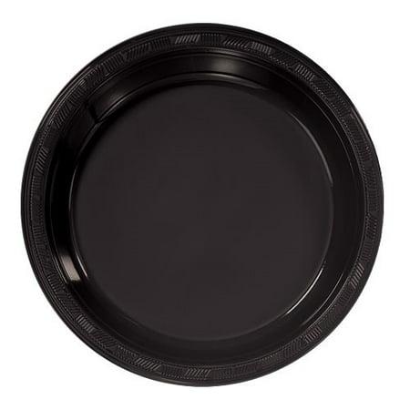 Hanna K Plastic Bowls Plasticware Plastic Plate, Round, 9