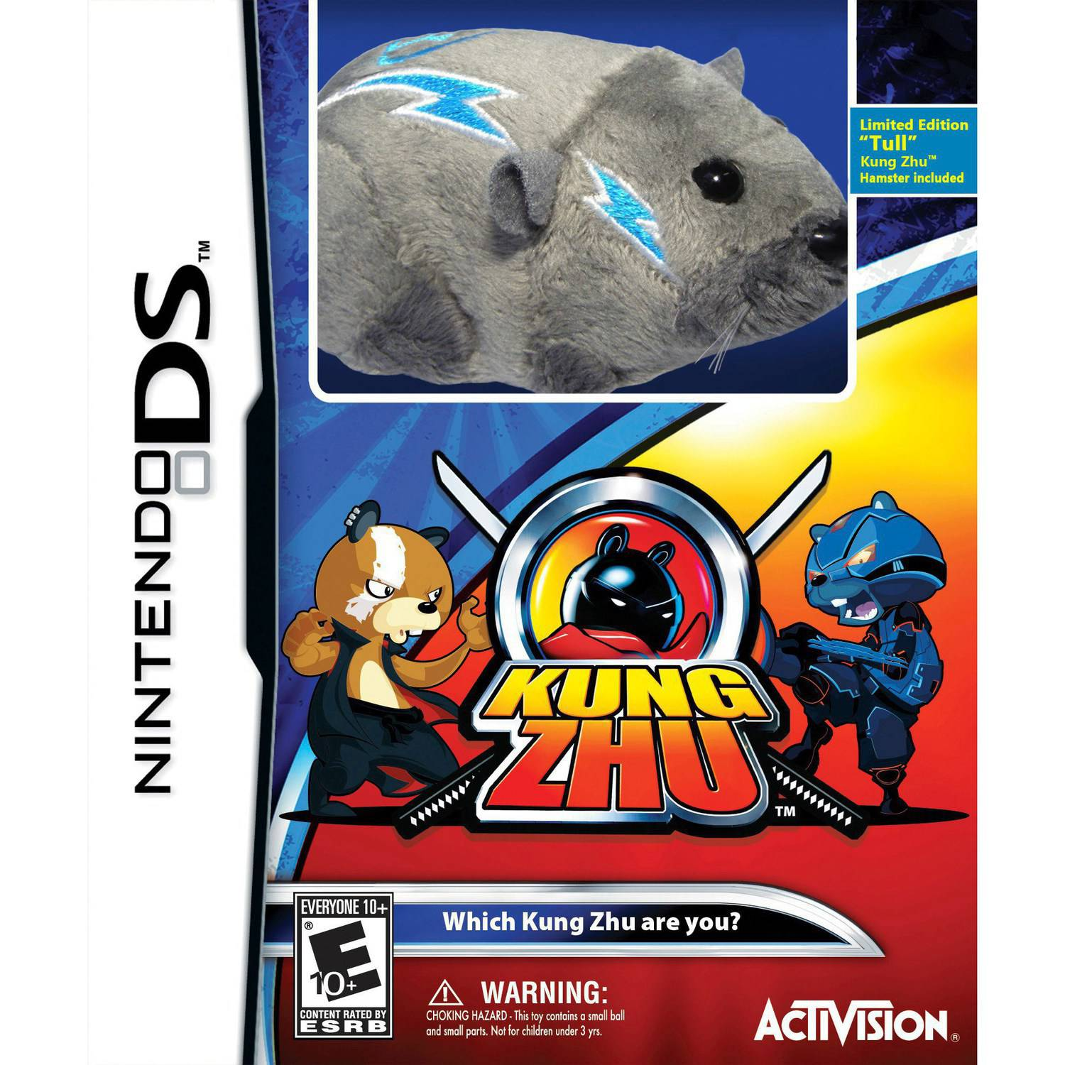 Zhu Zhu Pets King Zhu with toy (DS)