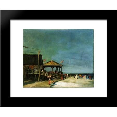 At Far Rockaway 20x24 Framed Art Print by Robert Henri
