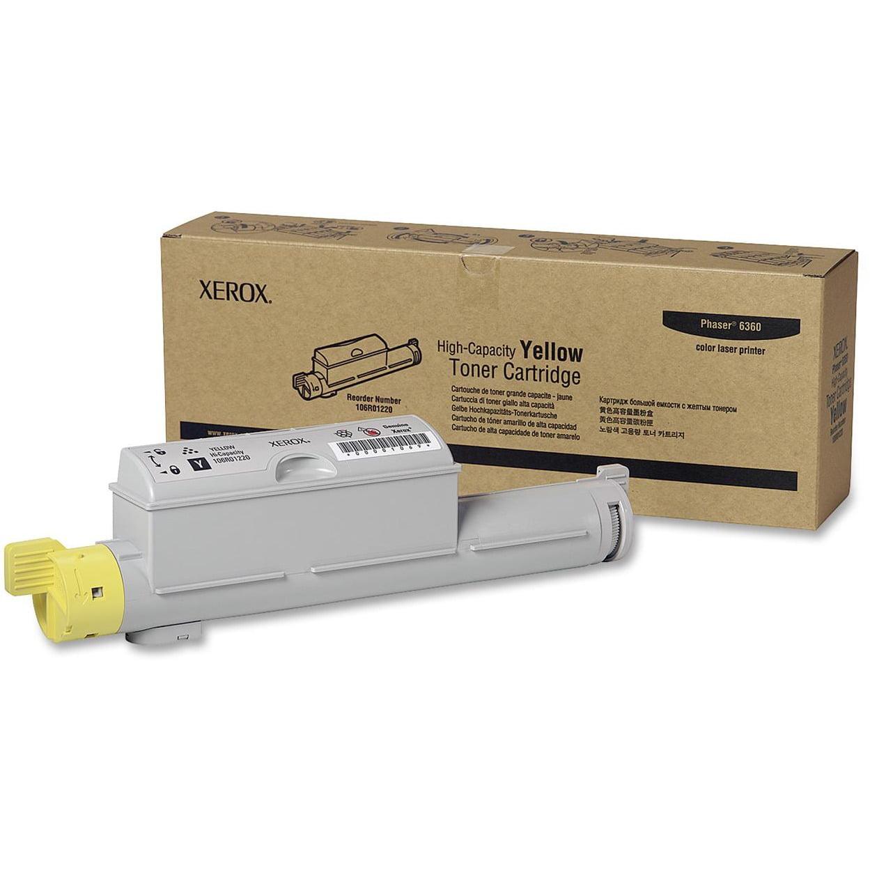 Xerox, XER106R01220, 106R01218/19/20/21 Toner Cartridges, 1 Each