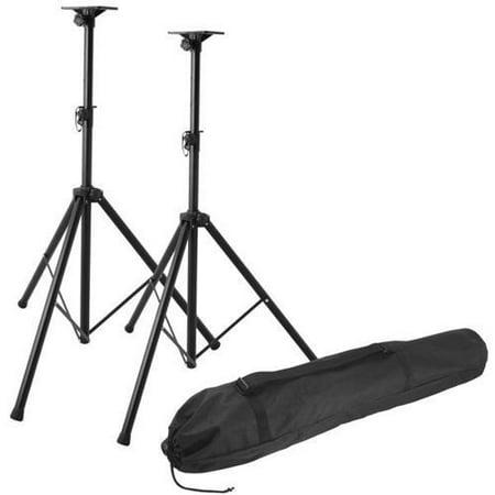 On-Stage SSP7850 Professional Steel Speaker Stand Pak