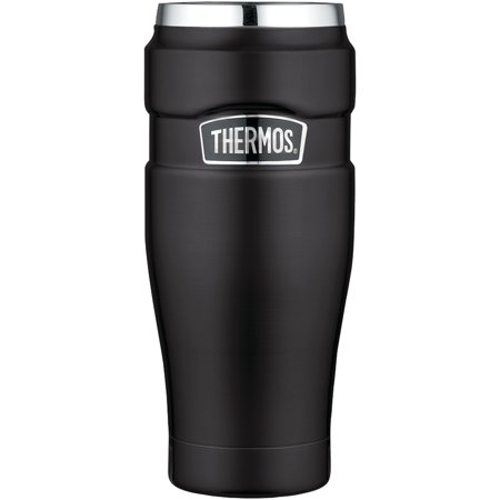 Thermos SK1005BKTRI4 Stainless Kingc Vacuum-insulated Travel Tumbler,