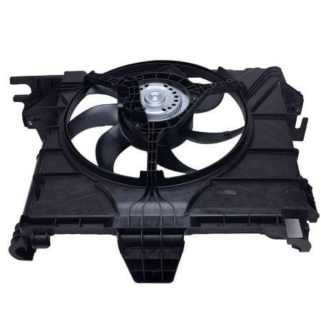 TOPAZ 0002009323 Radiator Cooling Fan Assembly for Smart Car Fortwo 451 07-15