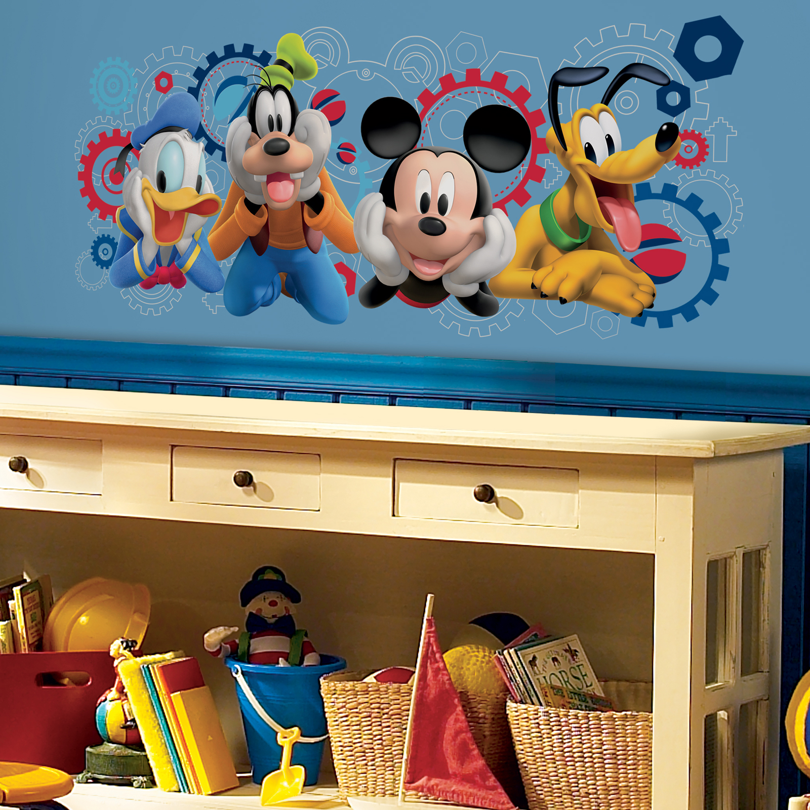 Disney's Mickey Mouse Clubhouse Capers Giant Wall Decal