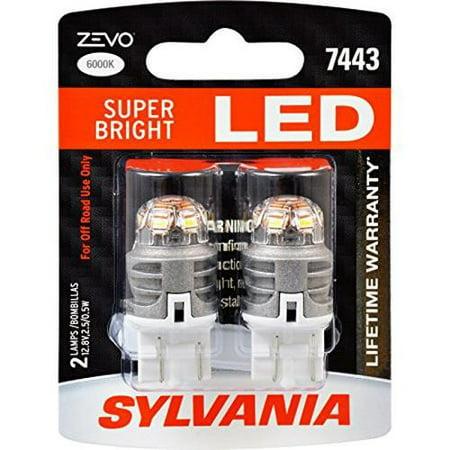 Sylvania Zevo 7443 T20 White Led Bulb Pack Of 2