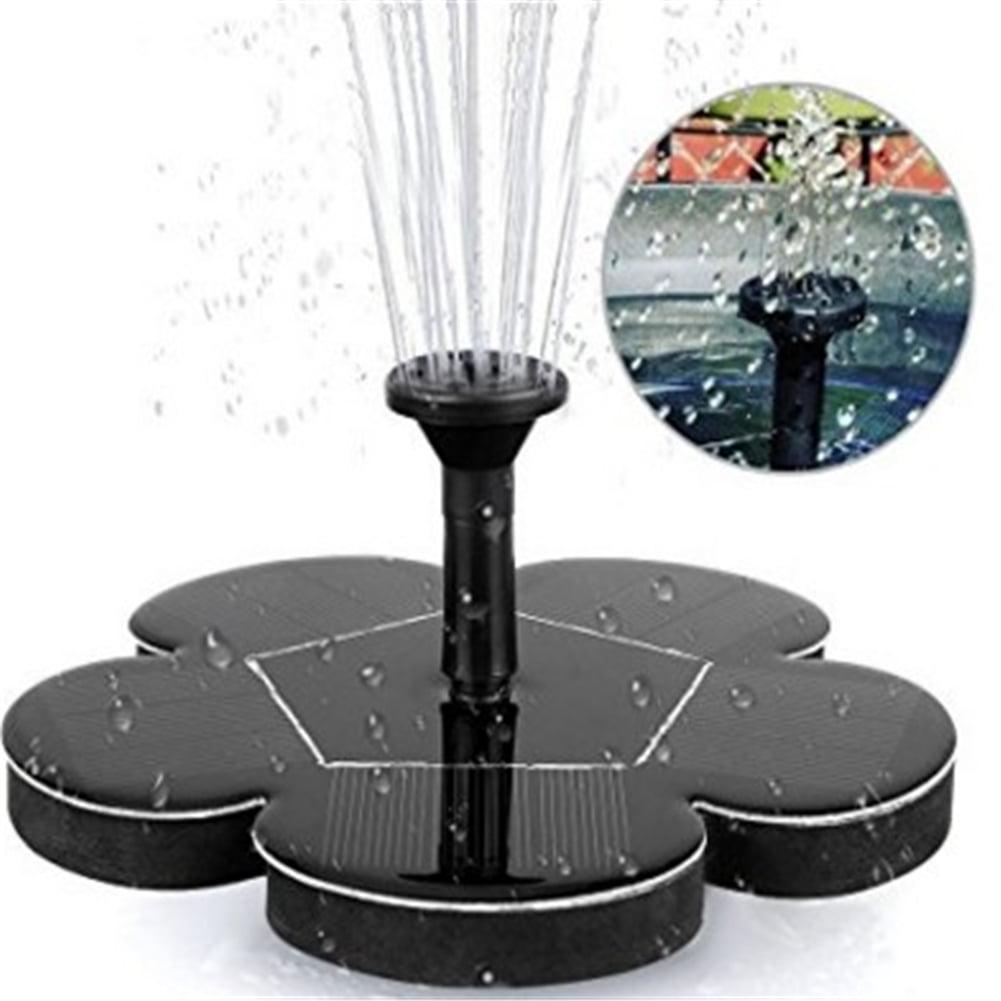 Solar Powered BirdBath Fountain for Birdbath Floating Water Pumps Kit Fountains for Garden... by