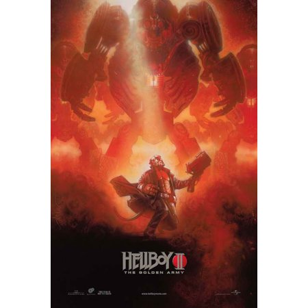 Hellboy 2  The Golden Army Poster Movie E  27X40