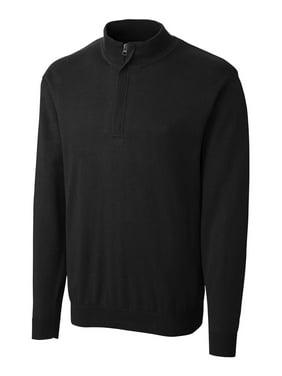 Clique/New Wave Men's Imatra Half Zip Sweater, Black - 5XL