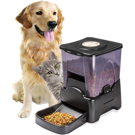 Paws & Pals Electronic Timer Programmable Dog Feeder for Large to Small Dogs