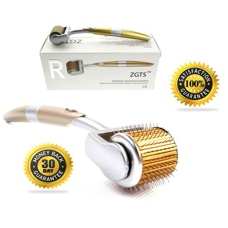 ZGTS Derma Roller Skin Care Tool 1.5mm For Anti-Aging, Wrinkles, Scars, Stretch Marks and Cellulite Treatment