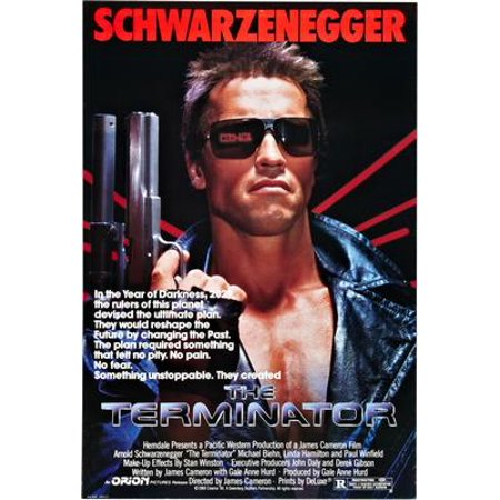 Terminator Wall - (27x40) Terminator The Movie Poster Reprint
